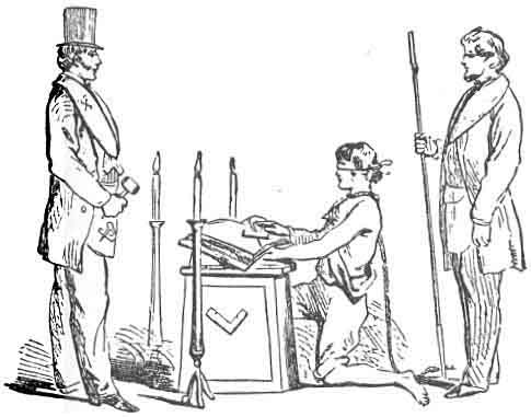 Entered Apprentice, or First Degree - Duncan's Masonic Ritual and ...