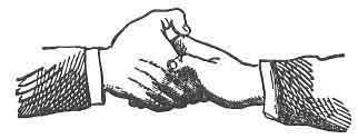 FIG. 9 THE GRIP OF AN ENTERED APPRENTICE.