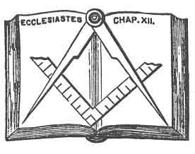 Master mason or the third degree duncan 39 s masonic for Masonic craft ritual book