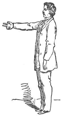 FIG. 22. SIGN OF RECEIVING   WAGES.