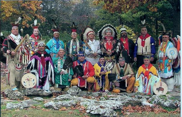 Party of 8: Oklahoma Masonic Indian Degree Team