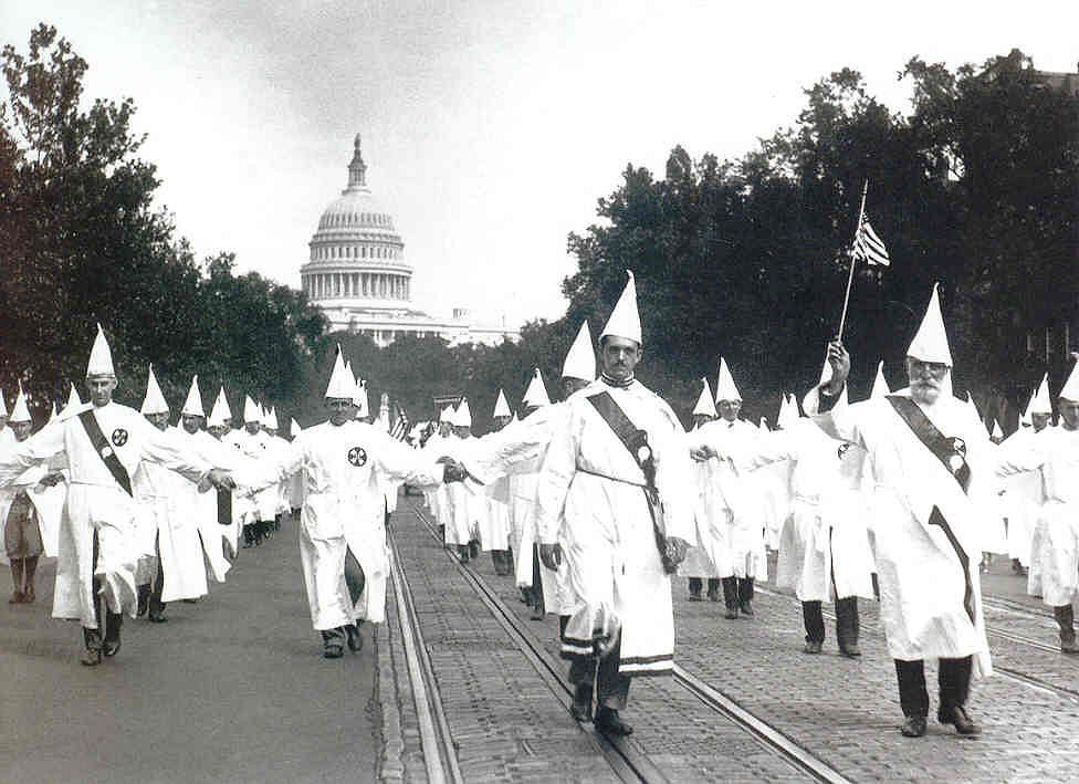 a brief history of the ku klux klan in the united states society A brief history of slavery and the origins  were two of the more formidable historic features of american society shaping  the ku klux klan started in.