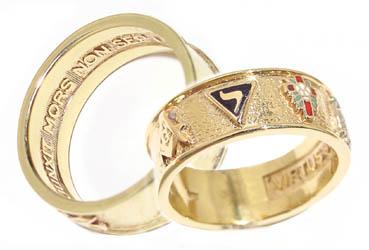 Civil War era 14th Degree SR Ring