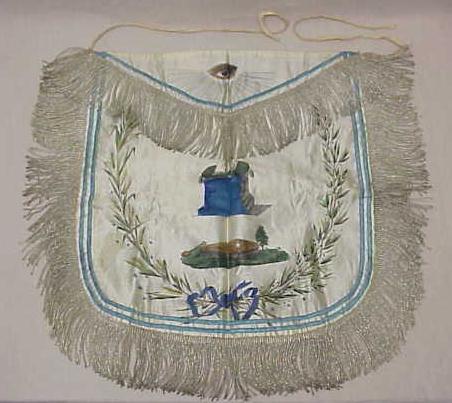 Quel rite et quels décors pour la Nauvoo Lodge? OldMasonicApron1