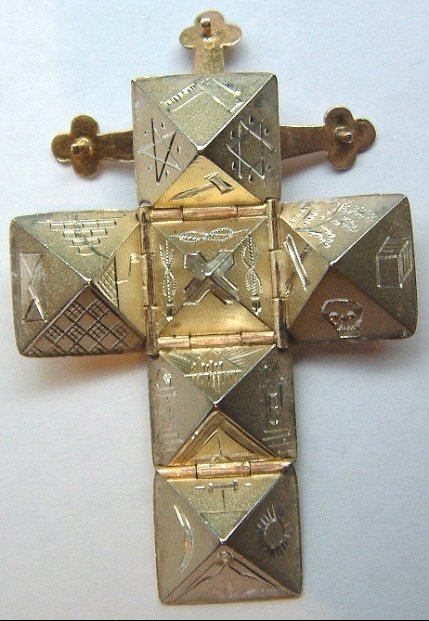 Masonic Cube Fob