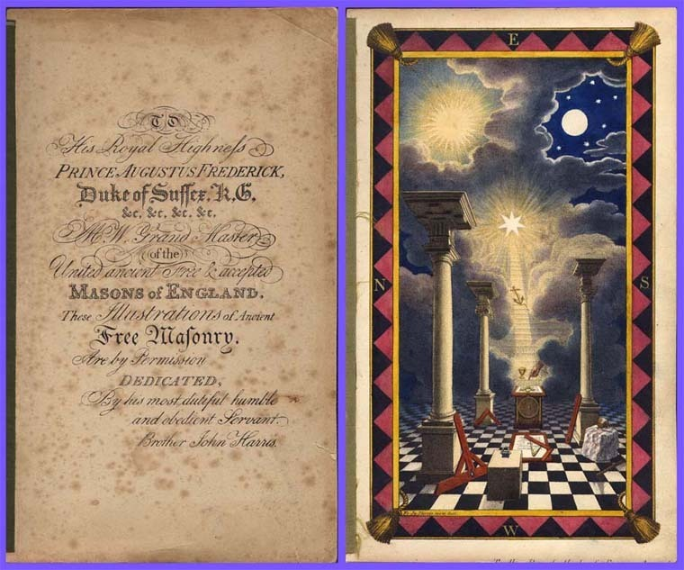 1836 Tracing Boards from the United Grand Lodge of England