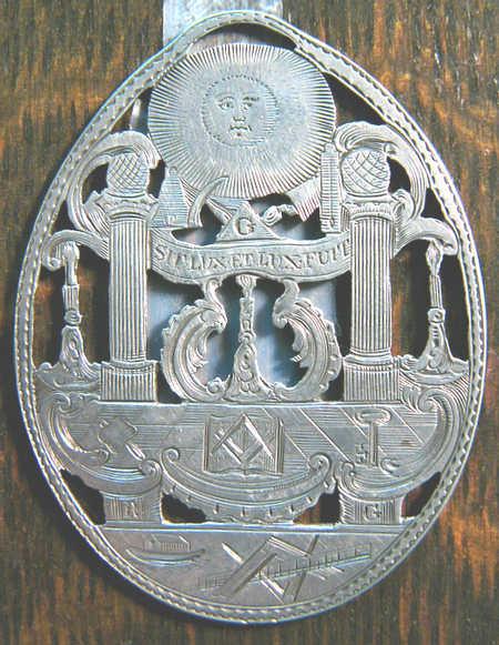 Irish Past Masters Jewel dated 1765