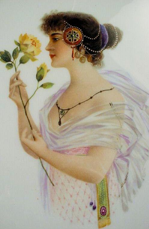 KT 1904 Gibson Girl Portrait Plate No. 4