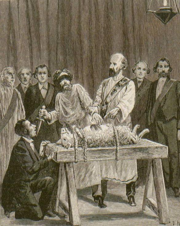 My Lying Freemason (Not So) Great Uncle   Leo_taxil_illustration_1
