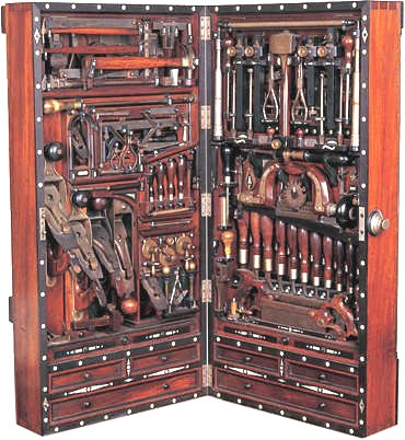 H O Studley Masonic Tool Chest